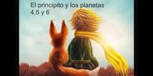 SECUNDARIA 1º - EL PRINCIPITO PLANETAS 4, 5 Y 6