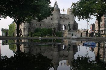 El Castillo de Steen, Amberes, Bélgica