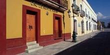 Calle Macedonia Alcala, Oaxaca, México