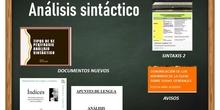 ANÁLISIS SINTÁCTICO1