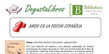 DegustaLibros Amor en la poesía española