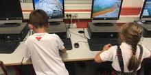 Tux Typing en 1º Educación Primaria