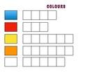 PLANTILLAS PARA SPELLING- Colours