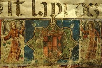 Gradual, detalle pie de página, Huesca