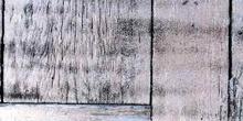 Madera gris con grietas