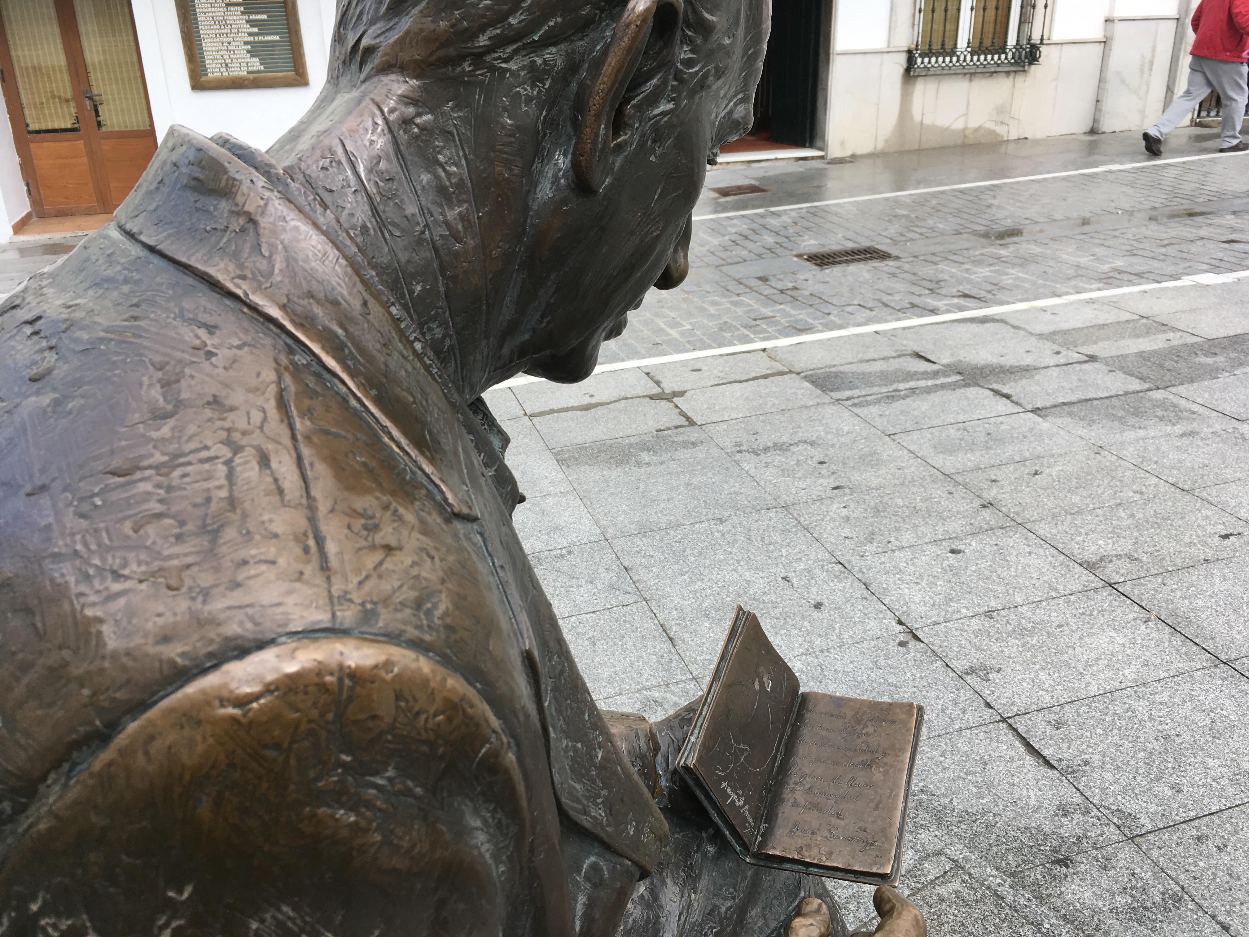 Monumento a José Saramago (Conil de la Frontera) 2
