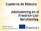 Jobshadowing CEPA Sierra de Guadarrama_Herford