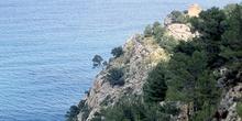 Acantilado boscoso, Mallorca