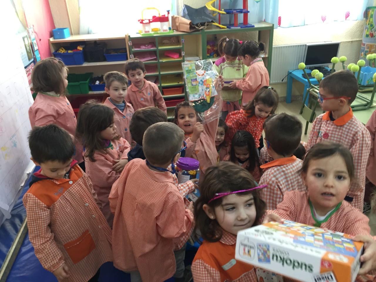 Visita Reyes aula 2