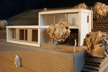 Maqueta de una casa