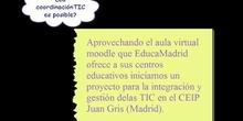 """""""Aula GrisTIC"""" por D.Hugo Muñoz Robles"""