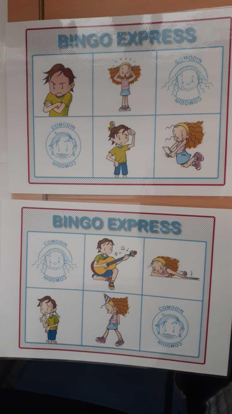 Bingo de emociones 2