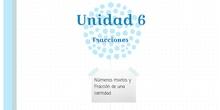 PRIMARIA-6º-NÚMEROS MIXTOS Y FRACCIÓN DE UNA CANTIDAD-MARÍA, PAZ, HUGO S Y ALEX-FORMACIÓN