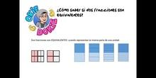 PRIMARIA - 6º - FRACCIONES EQUIVALENTES - MATEMÁTICAS - FORMACIÓN