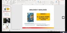 TECTÓNICA DE PLACAS 1º Bachillerato Geología