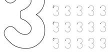 Ficha repaso del número 3