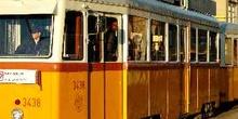 Tranvía, Budapest, Hungría