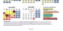 Calendario escolar nuevo