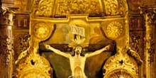 Cristo de la Agonía, Iglesia de San Pedro, Limpias, Cantabria