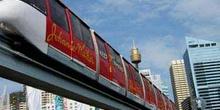 Tren monorrail en Sydney, Australia