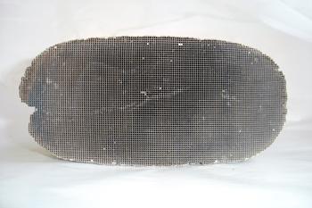 Catalizador. Detalle interno del bloque de cerámica