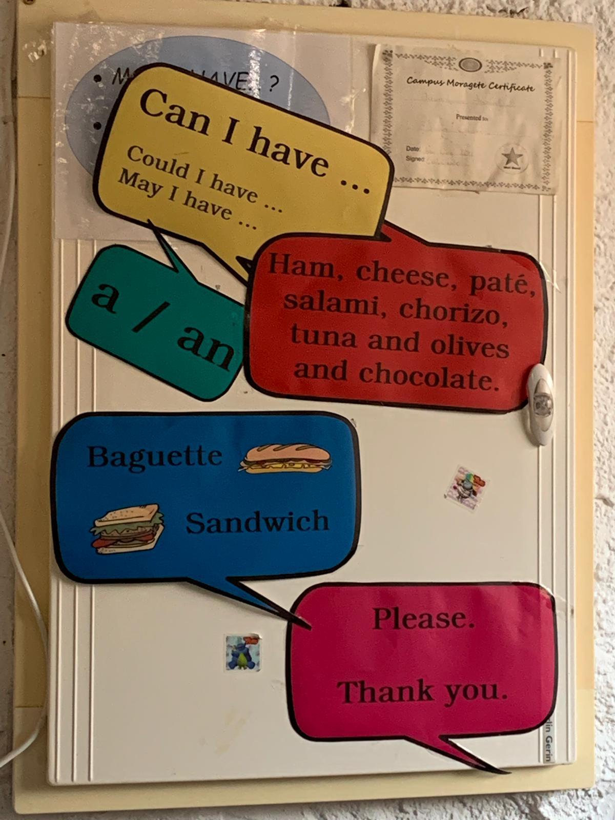 Inglés en Campus Moragete Day 1