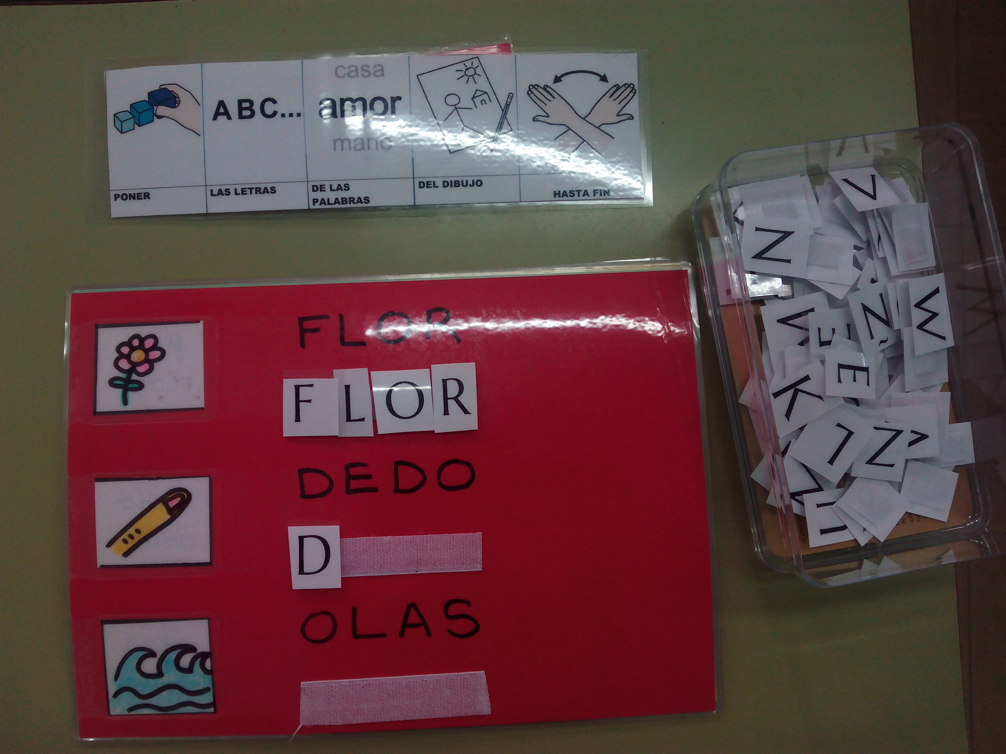 Seminario:material manipulativo para infantil y primaria adaptado a alumnos con T.E.A. 22