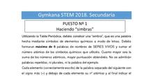 Retos Secundaria. Gymkana STEM Comunidad de Madrid 2018