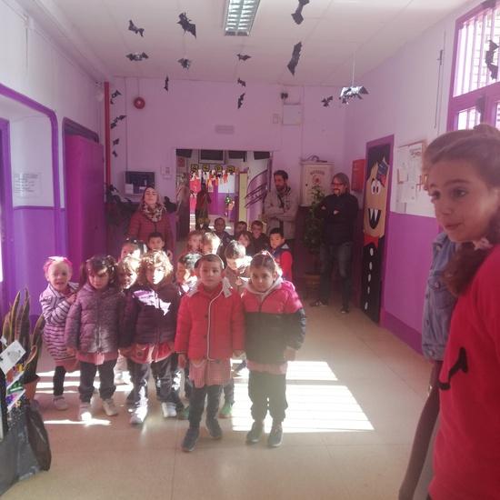 Visita al Berceo I de los alumnos de Infantil 4 años. 1