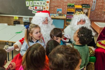 Los RRMM y Papá Noel en INF 3C 14