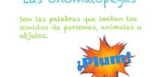 PRIMARIA 2º - LAS ONOMATOPEYAS - LENGUA Y LITERATURA - FORMACIÓN
