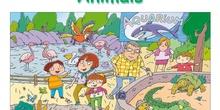 Animals - vertebrates: mammals and birds