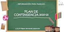 Resumen del Plan de Contingencia