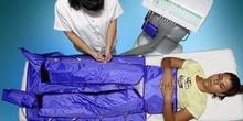 Presoterapia: desconexión de tubos