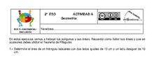 Actividades Grupos Interactivos IES El Carrascal Matemáticas 2ºGeometría