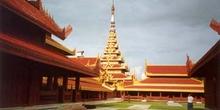 Palacio en Mandalay, Myanmar