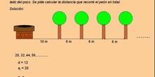 Progresión aritmética: 11.Problema del pozo