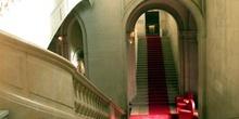Entrada al  Museo de Arte e Historia de Ginebra, Suiza