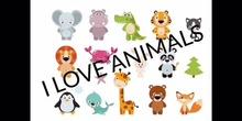 INFANTIL - 4 AÑOS - ANIMALS - INGLÉS - FORMACIÓN