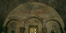 Pintura de la capilla mayor de la iglesia de San Salvador de Pri