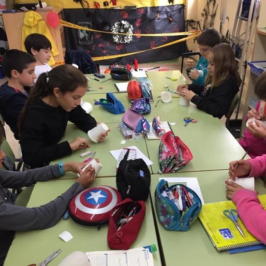 5ºPrimaria_Monster Paper Cup_arts&Crafts_CEIP FDLR_Las Rozas_2019-2020 3