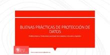 EducaMadrid para TIC y directores: Presentación de Protección de Datos
