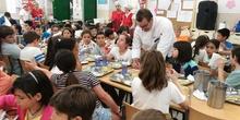 Visita del chef Sergio Fernández - Nutrifriends en el Comedor 15