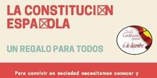 La Constitución Española, un regalo para todos.