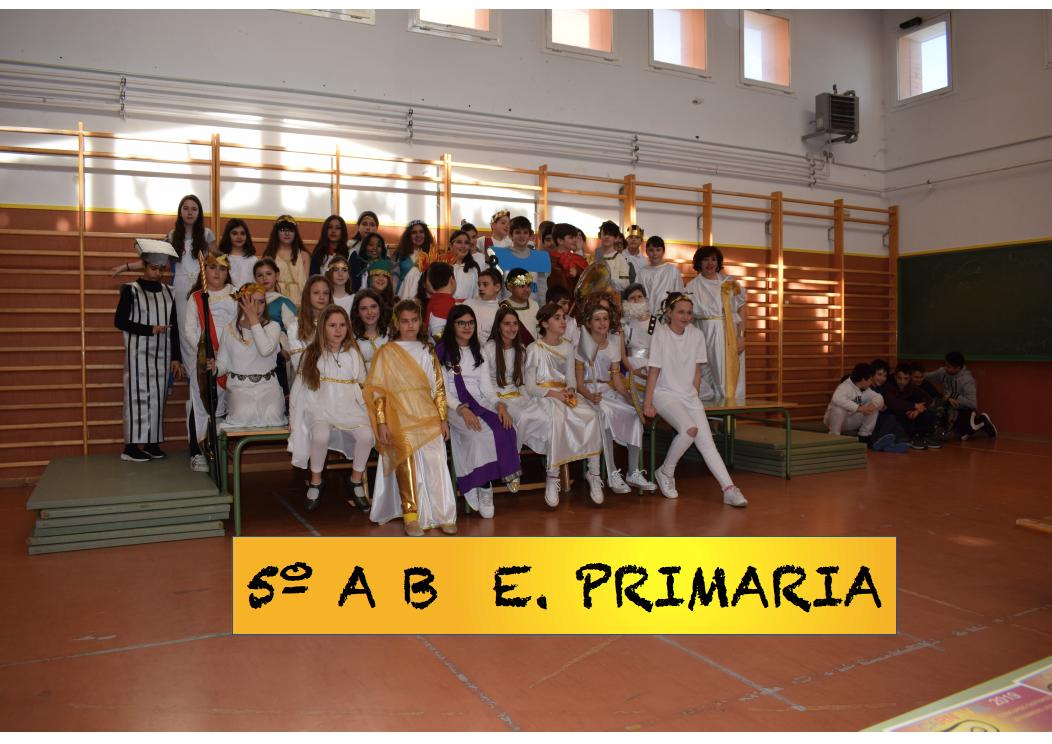 Carnaval 2019 E. Primaria Ceip Ágora de Brunete 8