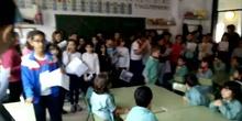Día de la Paz. Cantando en Infantil