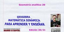 Iniciación a la geometría analítica 2D