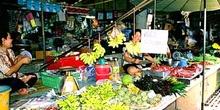 Mercado de frutas, Chiang Mai, Tailandia