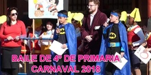 CARNAVAL 2018 BAILE DE 4º DE PRIMARIA