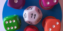 Juego dados: Math dice jr. 2